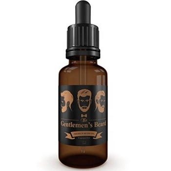 Private Label Natural Ingredients  Organic beard oil scented