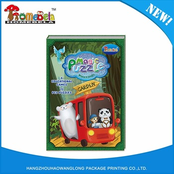 Factory sale various widely used 3d puzzle book high quality coloring books