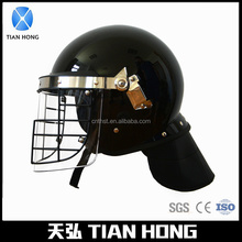 Anti Riot Helmet with steel guard grid