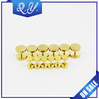 Indian Body Jewelry High Polish Gold Plated Barbell Earring