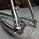titanium mtb bike frame with PM disc brake titanium mtb bike frame BB30 thru axle 142X12mm dropout