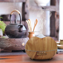 Wood Grain 300ml Essential Oil Diffuser Personal Aromatherapy Diffusers Ultrasonic Cool Mist Humidifier