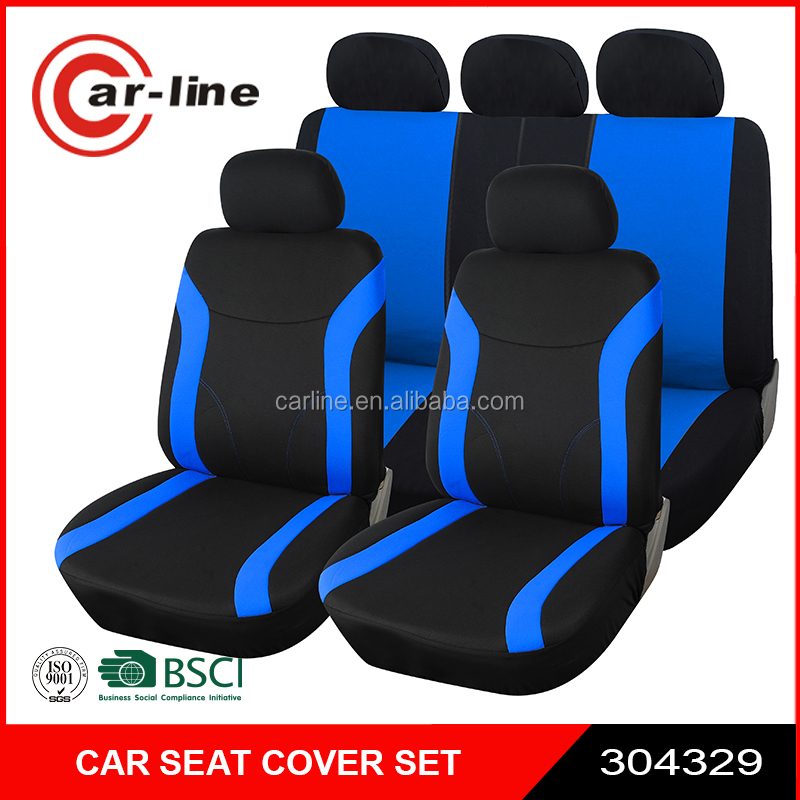 9PCS FANCY CAR SEAT COVER WITH AIR BAG OPENING