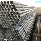 Galvanized Mild Low Black Carbon Round Welded Steel Tube Steel Pipe