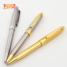 New luxury vintage ballpoint pen and gold metal pen