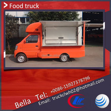 China Brand New Ice Cream Vending Truck For Sale