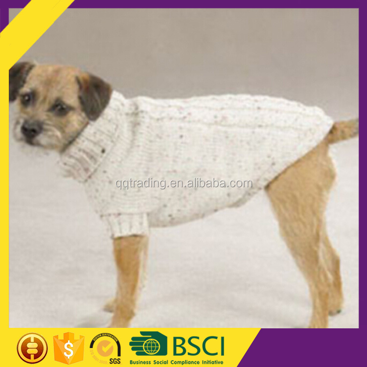 2016 Hot sale 1 piece acceptable new fashion comfortable winter warm knitted dog clothing