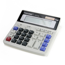 TIANSE New Stationery Products Dual Power Plastic Electronic Calculator