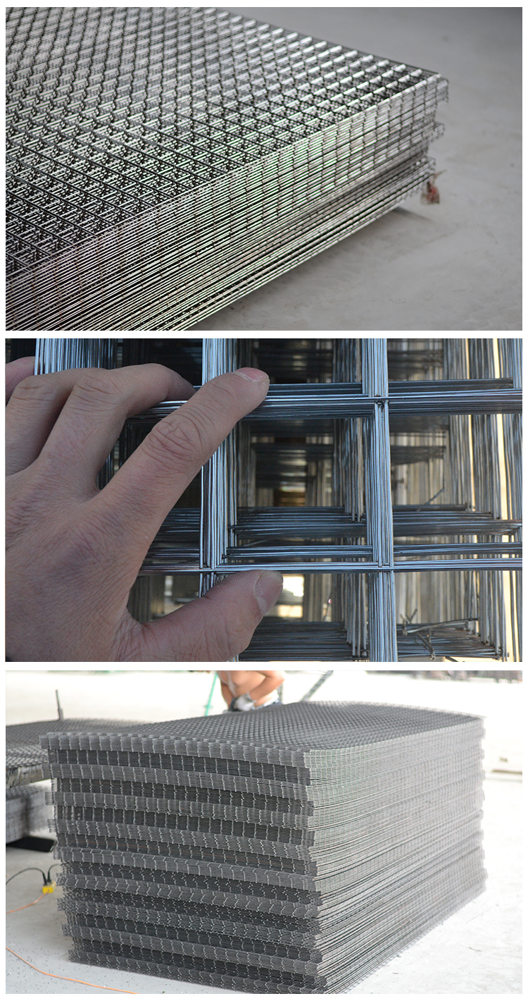 China Supplier Rigid Galvanized Welded Wire Mesh Panels With Low Prices