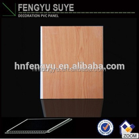 2016 Teak wood garage ceiling panels competitive price PVC ceiling/ wall panel