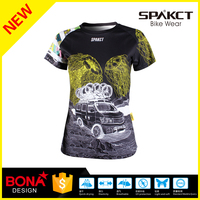 spakct new design short sleeve bike wear never fade bike wear t-shirt