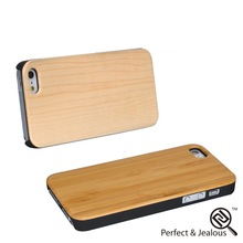 Factory wholesale high quality 3D pattern for iphone5 black walnut wooden case