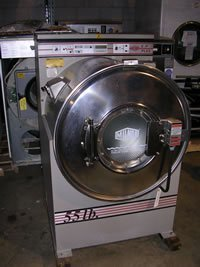 used laundry equipment:Milnor 55 LB Washer
