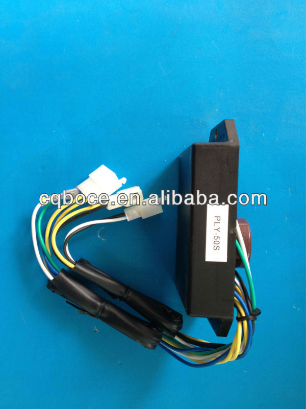 small diesel generator automatic voltage regulator 10 wires spare parts single phase 5KW AVR DAVR 50S