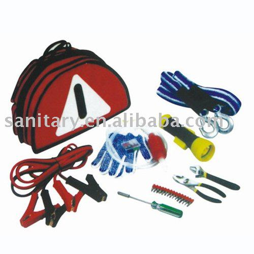 2014 Newest booster cable auto battery jump leads flexible car emergency kit LD30710