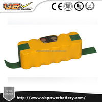 500 400 vacuum cleaner 2100MAH 14.4v ni-mh replacement battery for intelligent robot vacuum cleaner