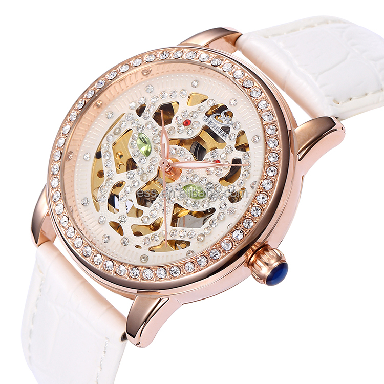 Buy 5 get 1 2016 Latest New Design Popular Wholesale Women Diamond Fashion Ceramics Jewelry Watches Wrist Watch