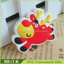 3D Design Soft Souvenir Christmas Serise PVC Fridge Magnet