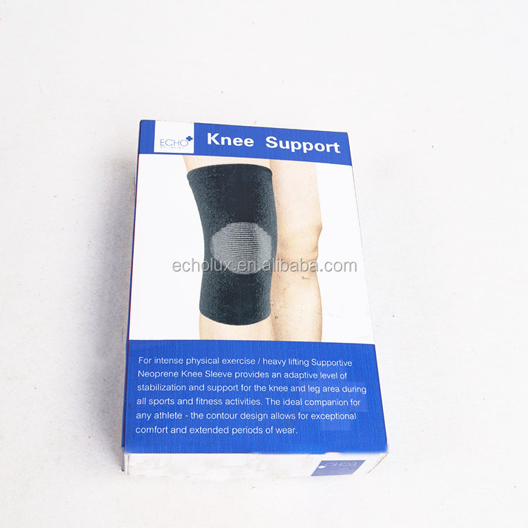 Bamboo Charcoal Fiber Knee Support -<strong>Protects</strong> Against Further Knee Damage- Comfortable for Everyday Wear
