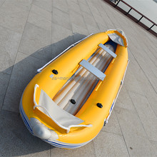 hot sale double seats kayak with inflatable bottom