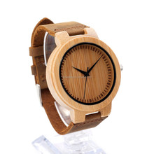 Wholesale custom Latest design real wooden watch