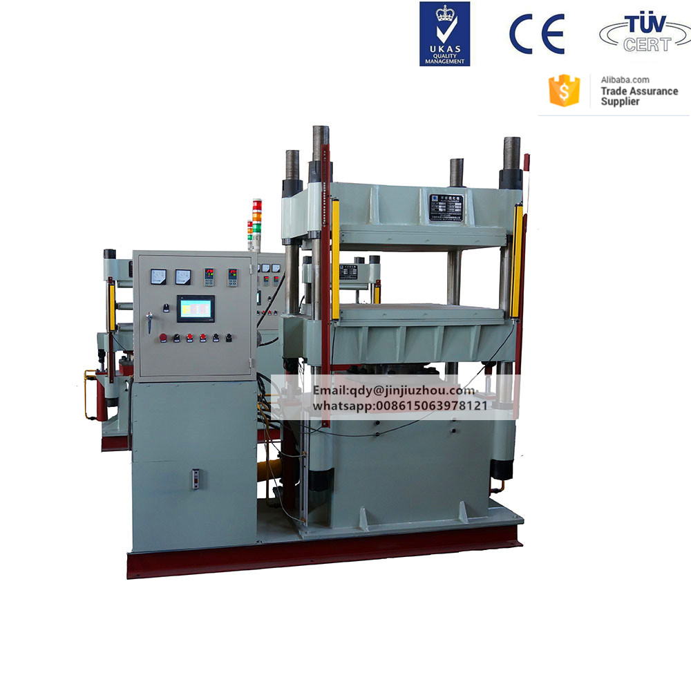 steel wire braided rubber hydraulic hose compression molding machine
