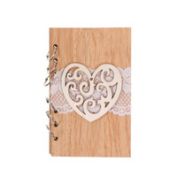 Hot Selling Luxury Guestbook Cover Wooden