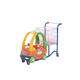 Children shopping trolley with toy car cart for mall renting