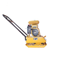 HAO BAO best seller C90D 5.5 HP pertol driven loncin plate compactor with china supplier
