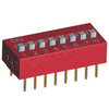 DIP Switch 8 way 2.54mm pitch