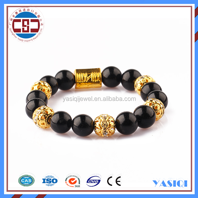 Best Seller Fashion Leader Charming Colorful Bead Elastic Bracelet Women Jewelry