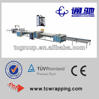 pur paper sticking machine