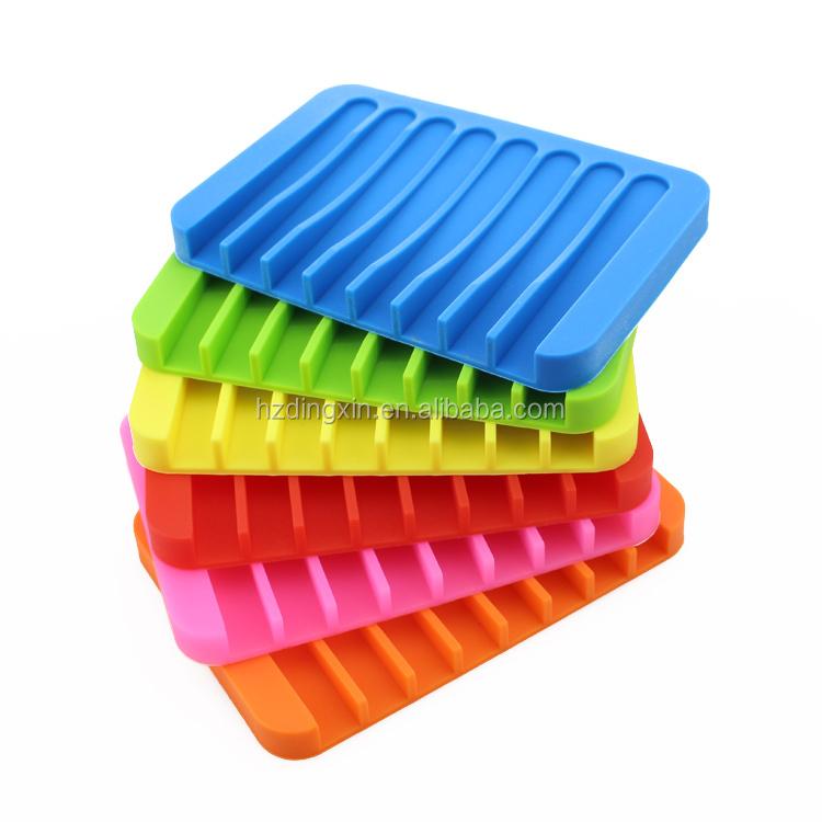 Gros plastique silicone savon silicone souple porte for Boite porte savon