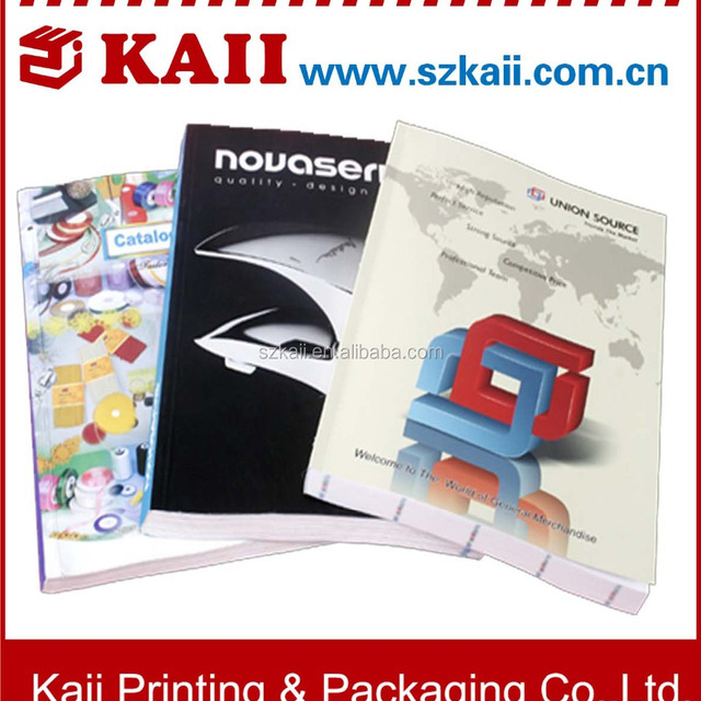 Factory prices cosmetic catalogue/brochure design