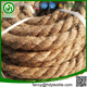 Best jute factory biodegradable braided twisted bleach natural color jute cord