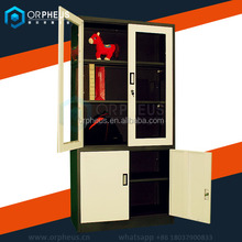 China Office Specefic Use Cold-rolled Steel Filing Cabinet Diy 4 Door Storage Cupboard