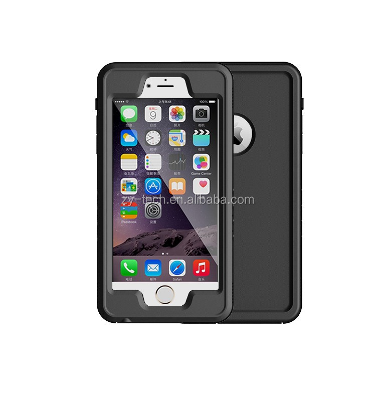 NEW ultrathin Super Thin Clear Sound Waterproof case for iPhone 6/6Splus