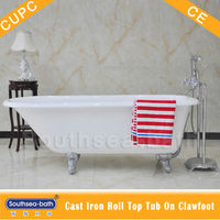 1 person hot tub/ used freestanding cast iron bathtubs for sale