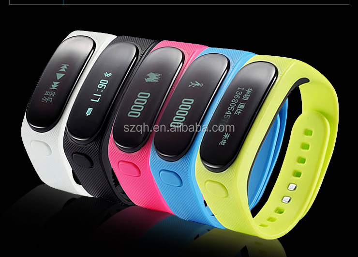 B1 Talkband Headset with Activity and Sleep Tracking Smart wristband OLED Screen Pedometer Fitness Sleep Monitor Sport Tracking