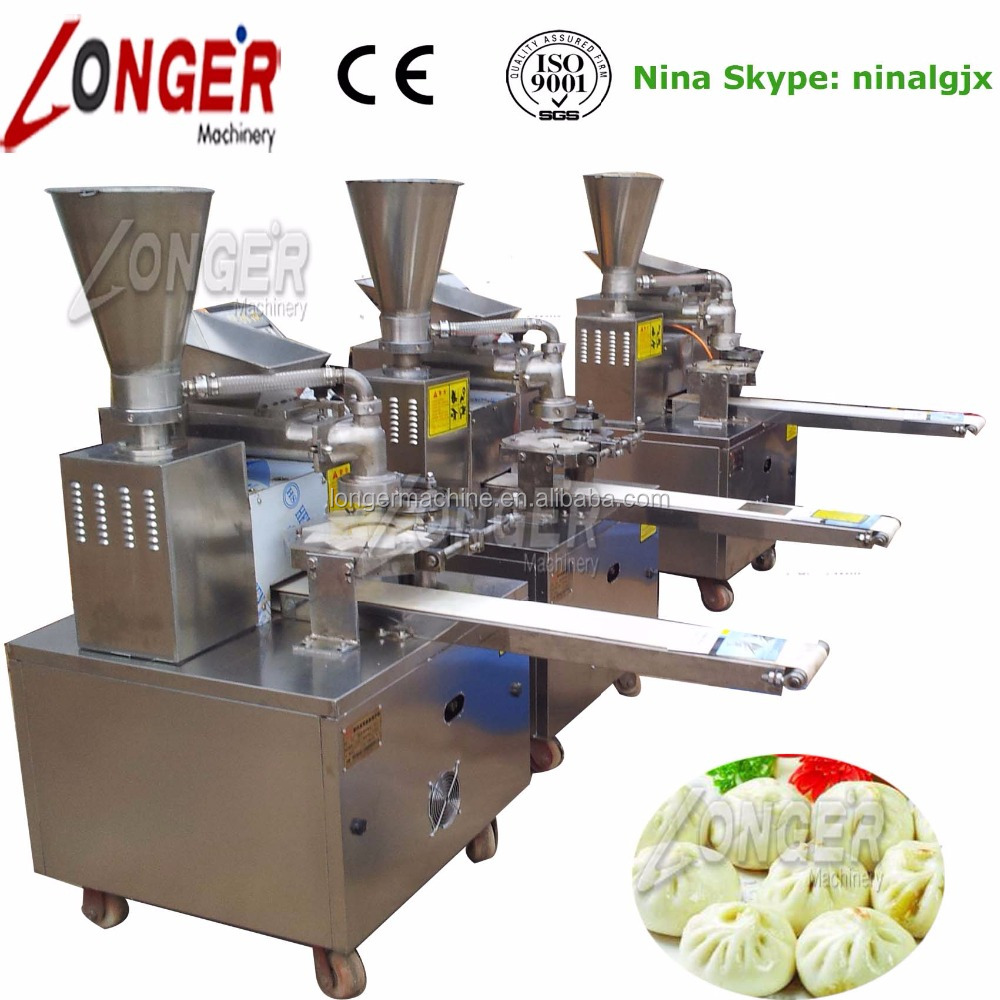 Professional Automatic Stainless Steel Steamed Buns/Momo/Coxinhas Making Machine