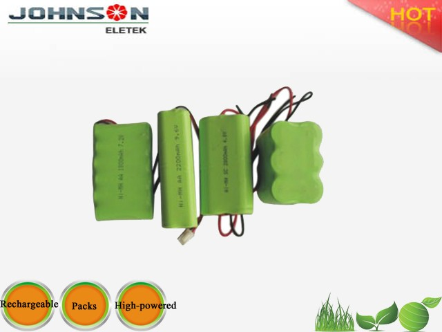 best manufaturer price 4.8v 600mah ni-mh aaa battery pack