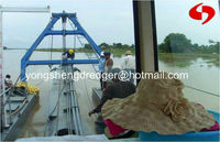 gold dredging machine to separate sand