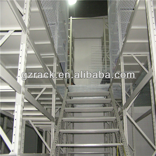 Warehouse Storage Shelf Multi-tier Platform Mezzanine Floor System To <strong>Utilize</strong> Warehouse Space
