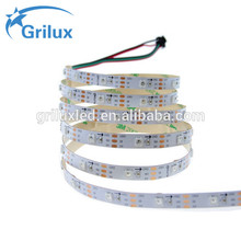 LED pixel side emitting ws2812 strip 7020 5050 smd rgb led rope light waterproof with high quality