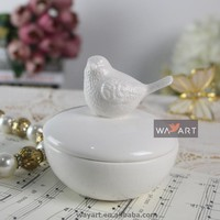 Ceramic Bird Ornaments of Ceramic Jewellery Gift Box