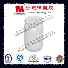 40L HDPE white plastic water barrel