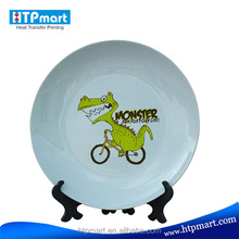 sublimation printing custom printed dinner plates for wedding