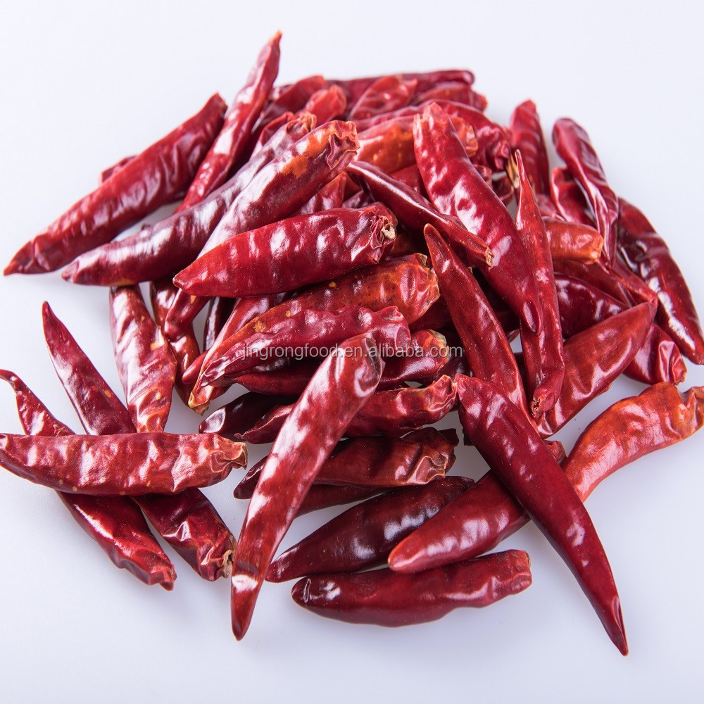 Red Dried Bullet Chili Chilli without Stem