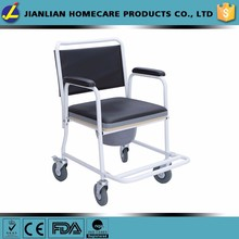 JL commode bath chair for disable Folding Commode Chair JL693