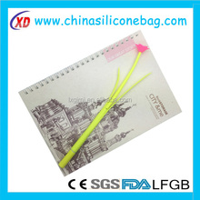 most popular flower pattern with soft silicone pen
